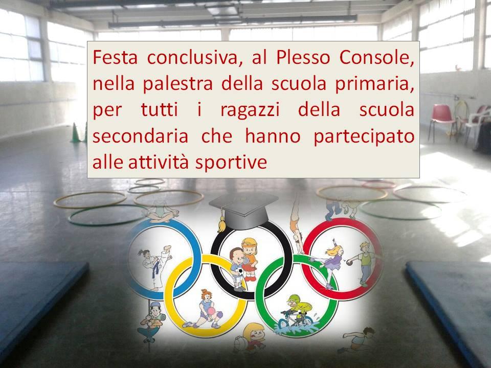 attivita sportiva secondaria console