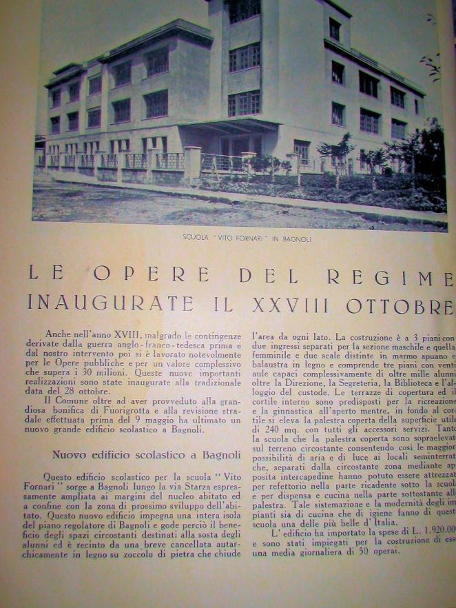 La sede storica di Via Diomede Carafa